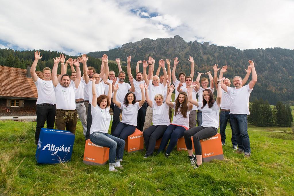 Team von Brack Wintergarten