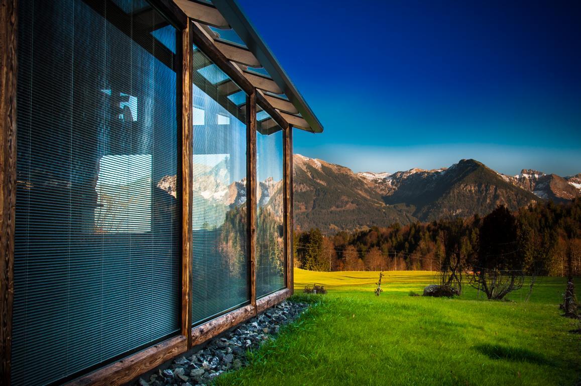 wintergarten au en mit altholz innen mit hightech brack. Black Bedroom Furniture Sets. Home Design Ideas