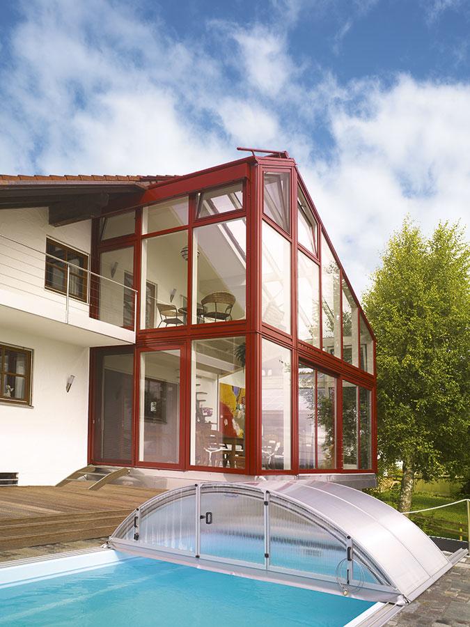 wintergarten 2 st ckig mit galerie brack wintergarten. Black Bedroom Furniture Sets. Home Design Ideas