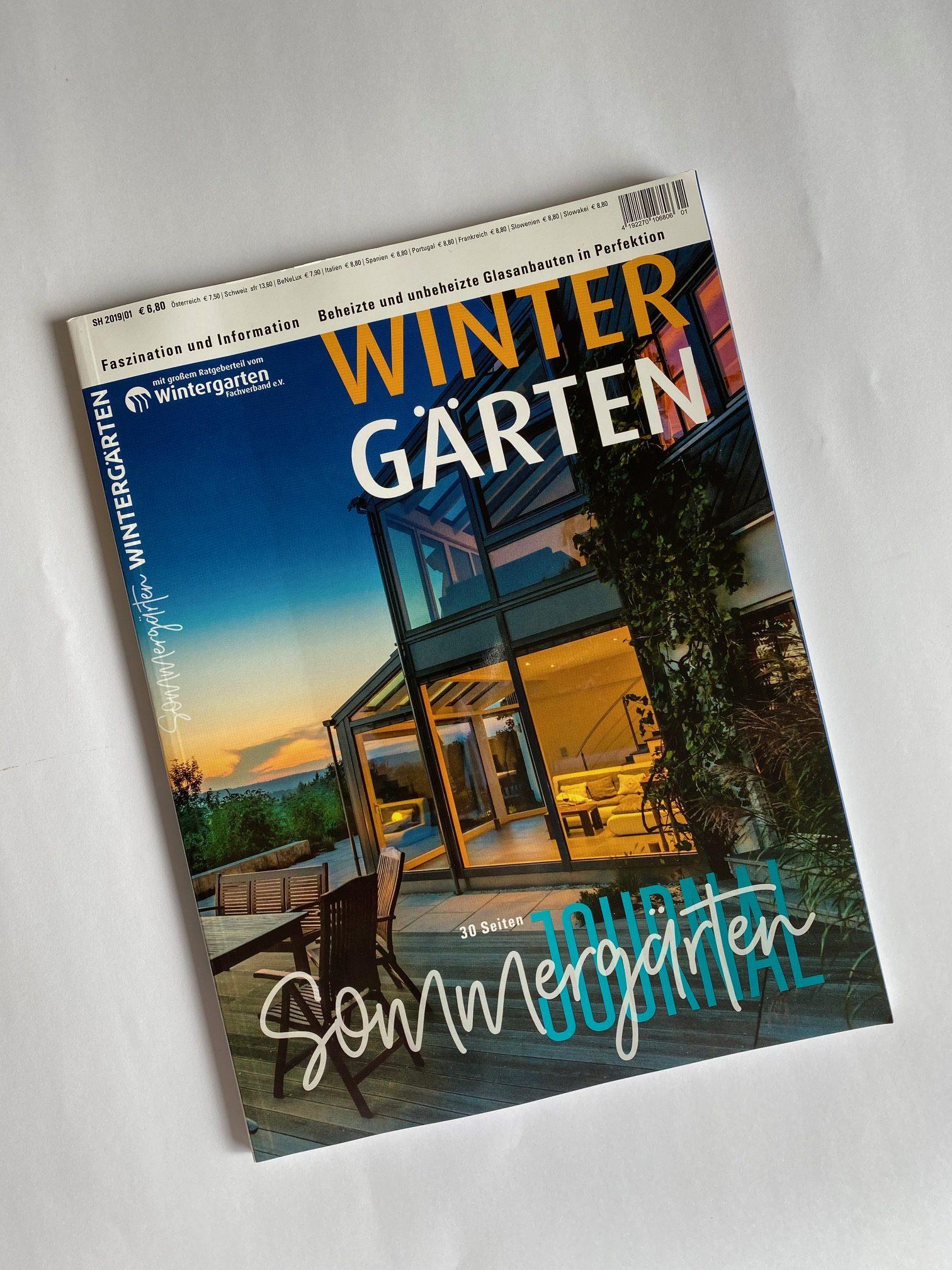 Es ist da, das neue Winter/Sommergarten Magazin – ab sofort bei uns.