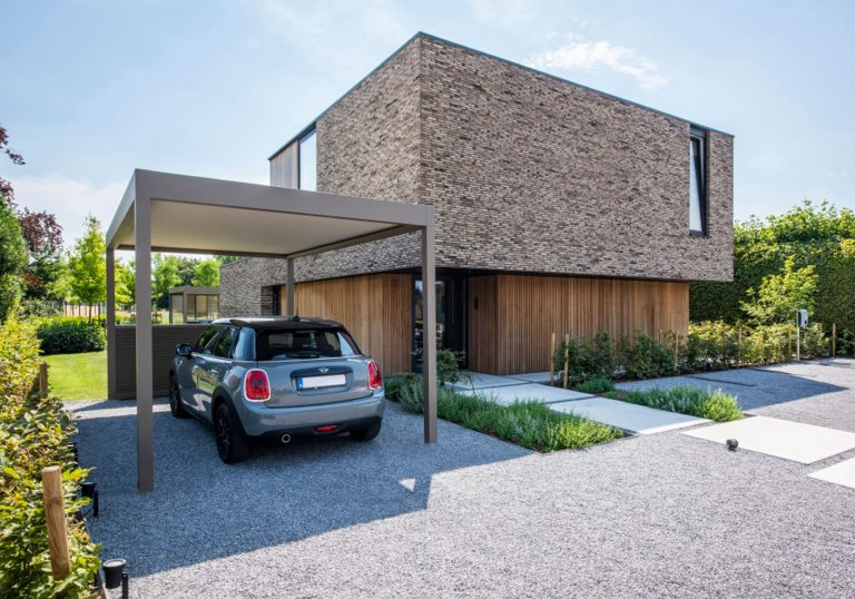 Lamellendach für Carport
